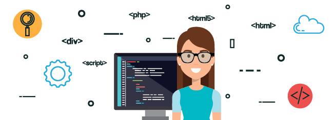 The number of women developers is scarce in software development companies