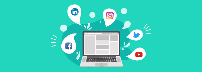 Social media is a powerful tool for marketing due to its wide reach